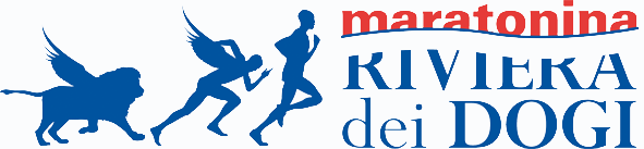 Il logo della Maratonina Riviera dei dogi