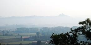 Nebbia all'orizzonte