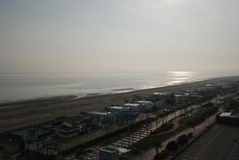 La spiaggia ad Est