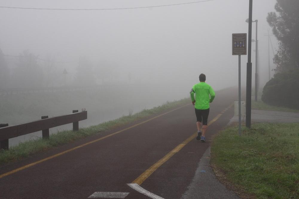 FUNSide | Photo: Runners in the mist (4/4)