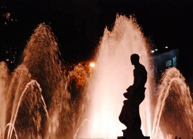Weekly Photo Challenge - Barcelona by night