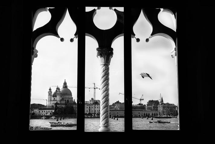 Venezia dalla Casa dei Tre Oci
