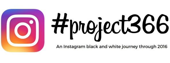 A black and white instagram project