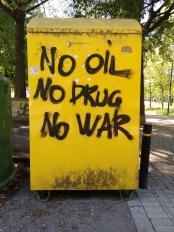 No Oil, No Drug, No War