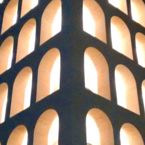 New forms shaped with lights and shadows.