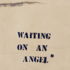 Waiting on an angel