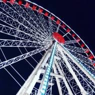 The giant wheel.