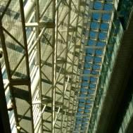 Steel, sunlight & blue sky.