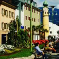 Sunday afternoon in Lienz, Austria.