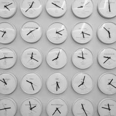 Time passages.
