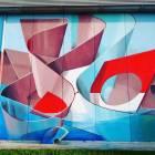 Futurist graffiti.