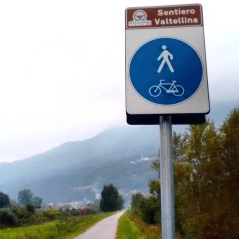 Valtellina trail, 7.05 AM.