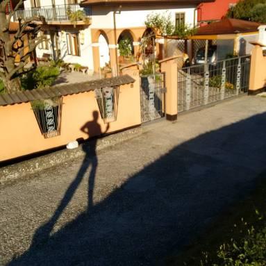 Selfie on the run.
