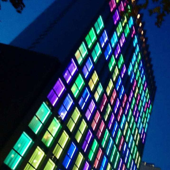 The rainbow windows hotel.