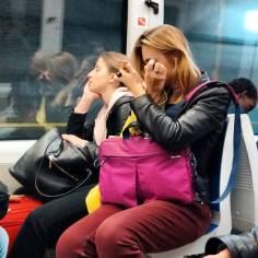 Metro make-up.