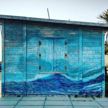 Pesaro - Van Gogh on the beach.