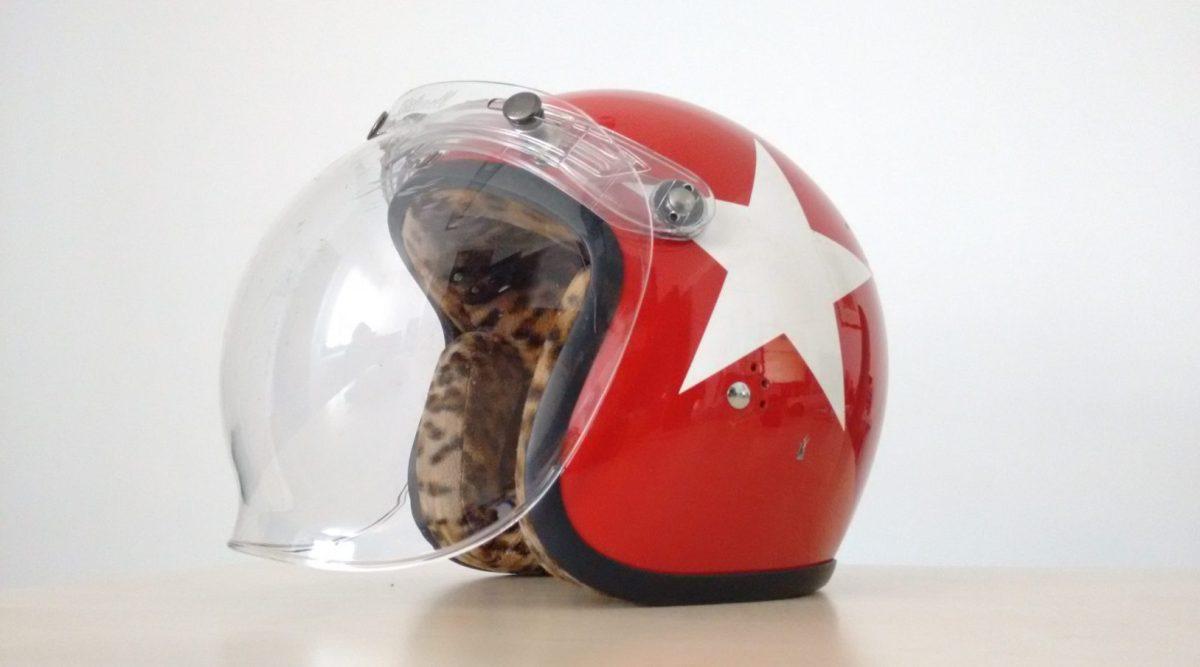 White star helmet