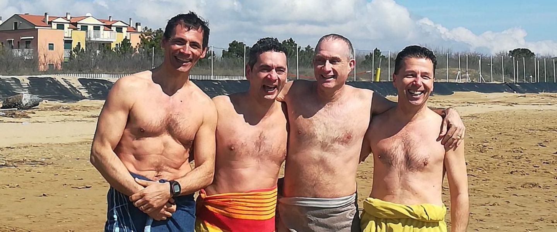 Quattro bagnanti Pasquettali